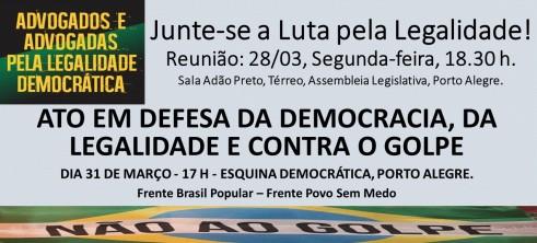 Junte-se a Luta pela Legalidade! (2)